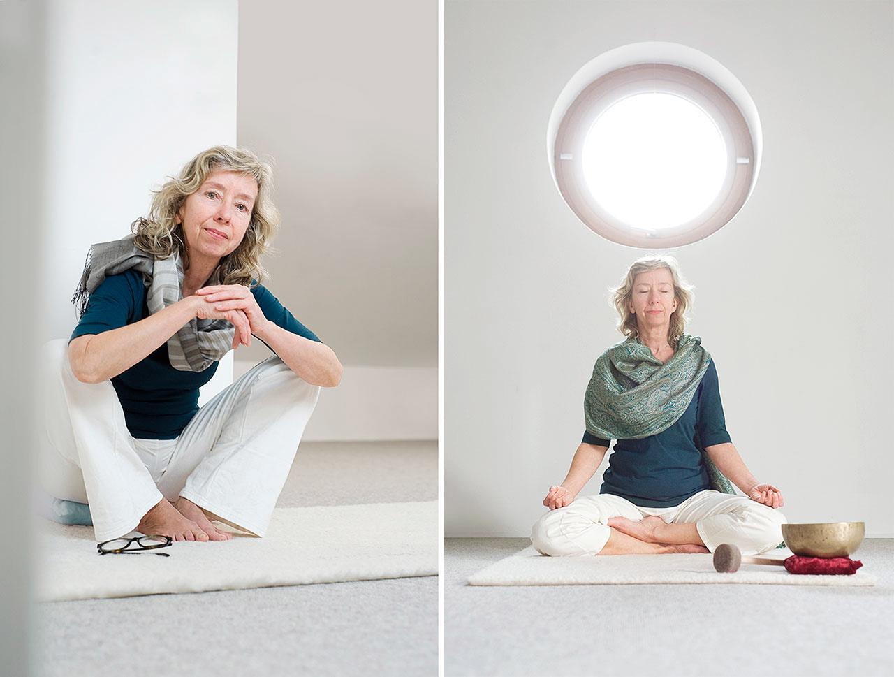 Yoga Portrait Fotos Lotte Ostermann