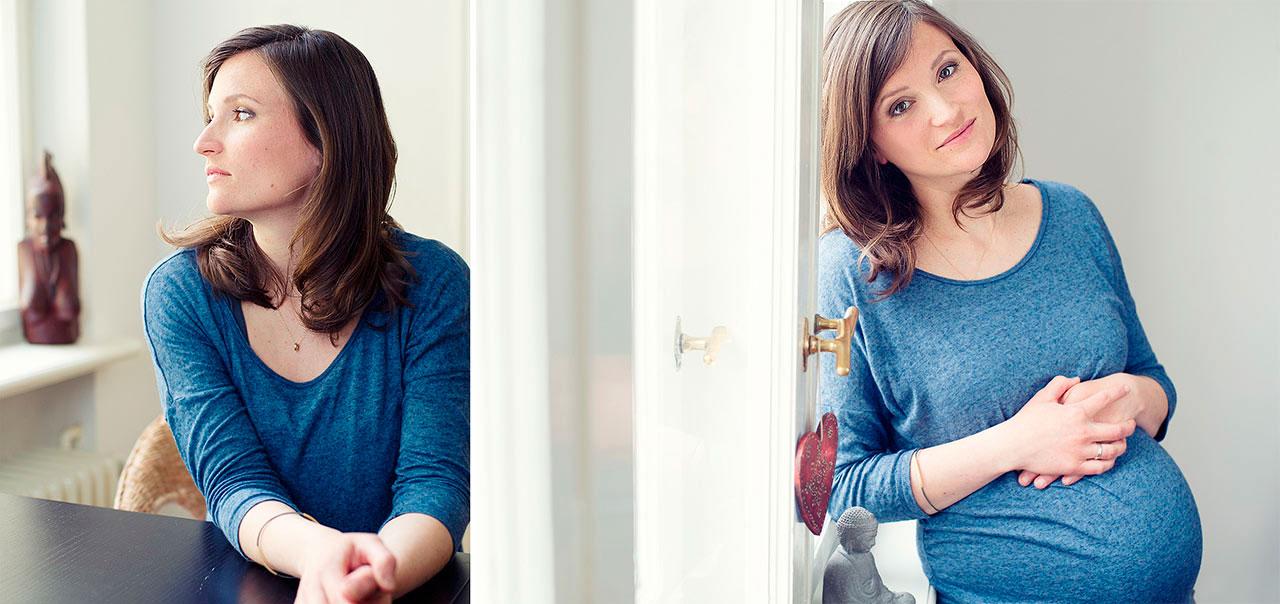 Schwangeren Portrait Foto Lotte Ostermann