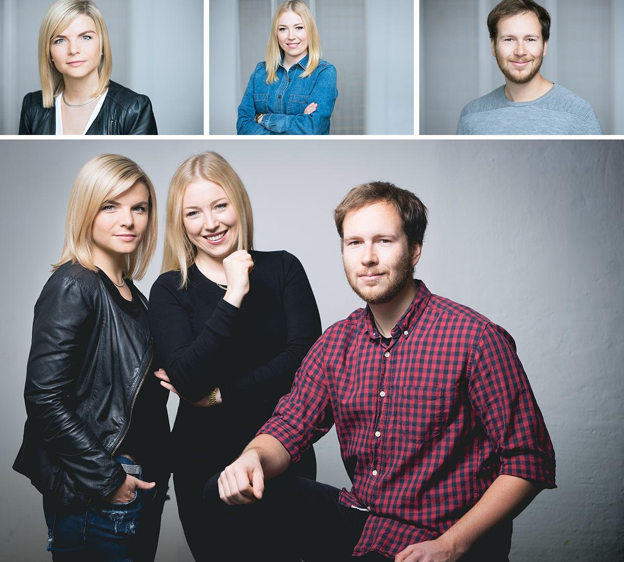 Teamfotos Mitarbeiterfotos Businessfotos Lotte Ostermann Berlin