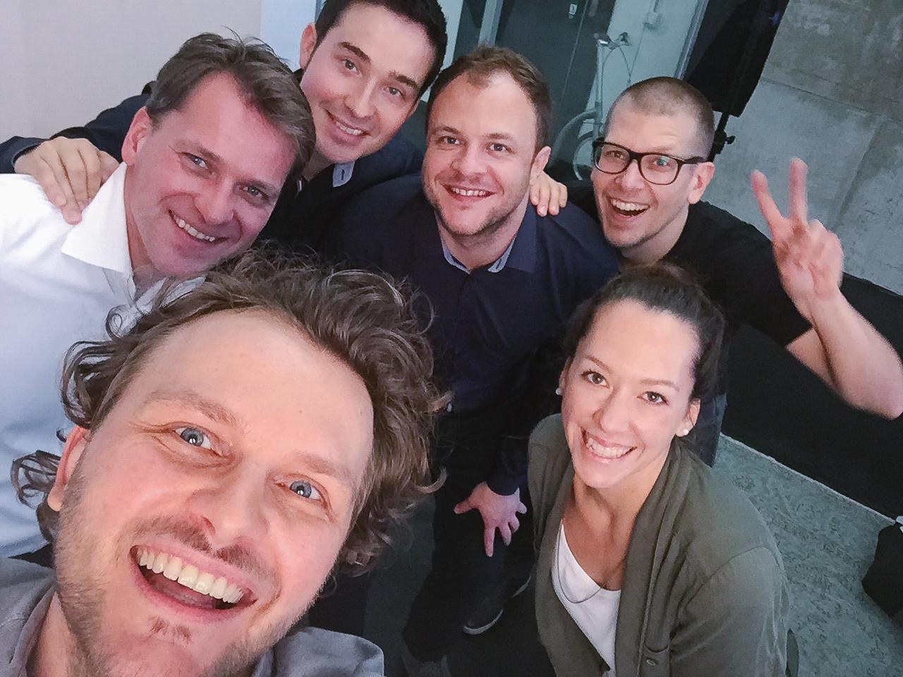 Teamfoto Startup Berlin Selfie