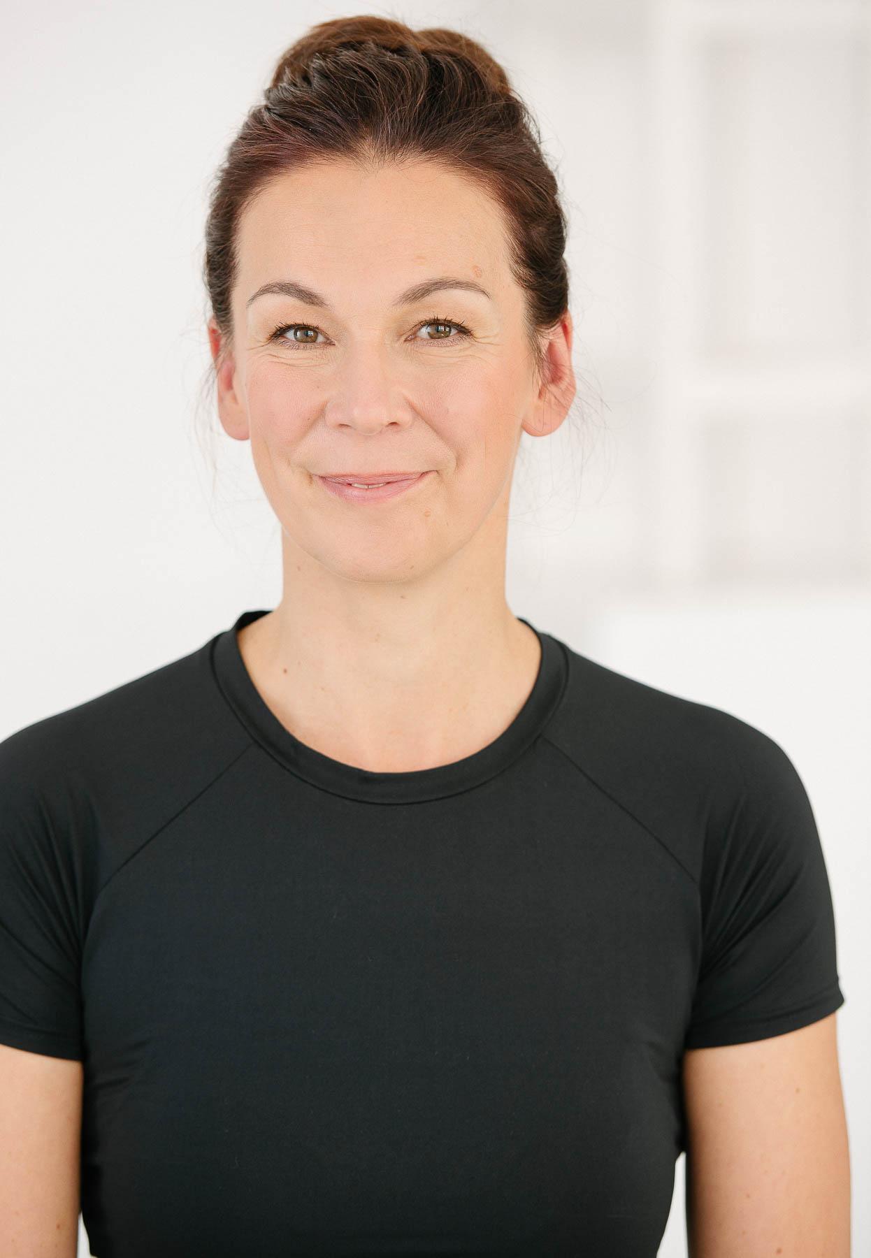 Portrait Yoga Lehrerin Berlin